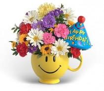 Have a Nice Birthday (Boy)  Floral Keepsake