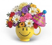 Have a Nice Birthday (Girl)   Floral Keepsake