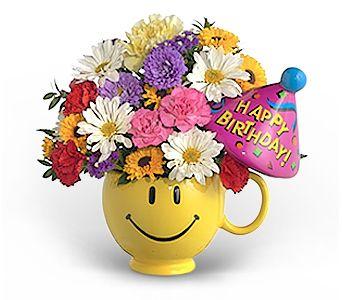 Have a Nice Birthday (Girl)   Floral Keepsake