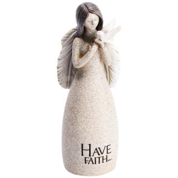 Have Faith Angel Statue
