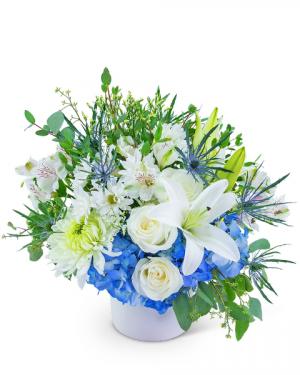 Haven of Hope Flower Arrangement in Nevada, IA | Flower Bed