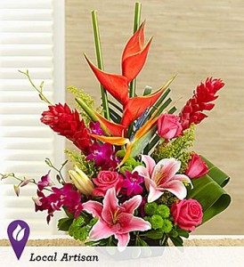 HAWAIIAN HUGS & KISSES  in Camp Pendleton, CA | CAMP PENDLETON FLORIST