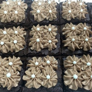 Hazelnut Brownies Sweet Blossoms  in Greensboro, NC | BLOSSOMS & SWEET BLOSSOMS