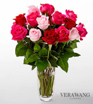 Love Always Bouquet by Vera Wang  in Valley City, OH | HILL HAVEN FLORIST & GREENHOUSE