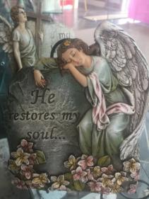 He restores My Soul plaque