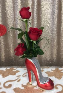 Head over Heals Vase Arrangement