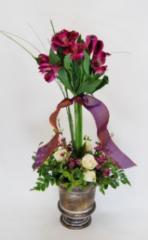 Head Over Heels Vase Arrangement