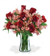 Head Over Heels Vase Arrangement