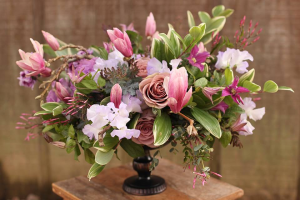 Head table centrepiece  Please call for Pricing  in Oakville, ON | ANN'S FLOWER BOUTIQUE-Wedding & Event Florist