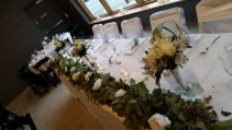 Head Table Garland Arrangment