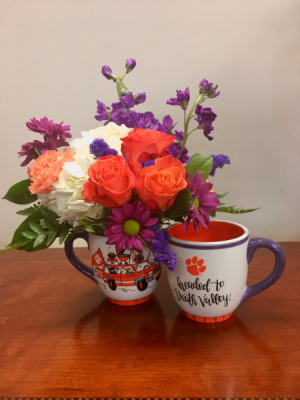 Headed To Death Valley! Floral Arrangement in Clemson, SC | TIGER LILY FLOWERS LLC