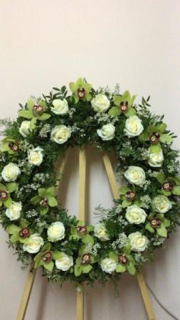 Healing Prayers Sympathy standing wreath