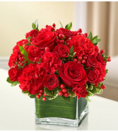Healing Tears™ All Red Sympathy Arrangement