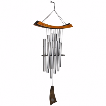 Healing Wind Chime Wrapped Gift