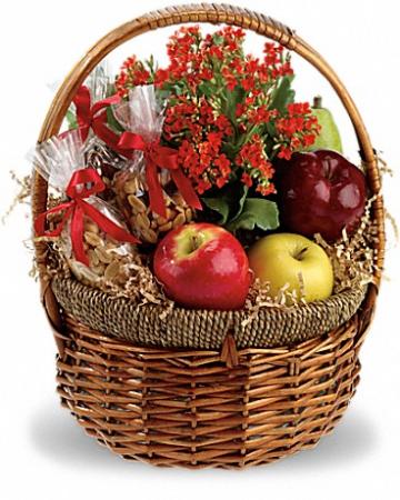 HEALTH & HAPPINESS Basket Arrangement