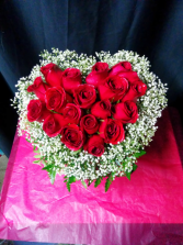 Heart and Soul - Premium Red Roses in Heart Shape