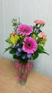 Heart Beat vase arrangement