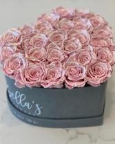 Heart Box- Eternity Roses  Roses that last a year