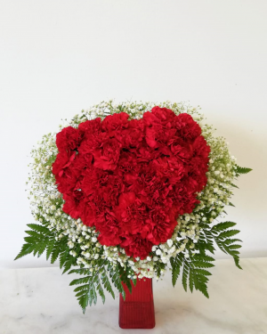 Heart Carnetion  Medium in Tamarac, FL | Yosvi Flowers