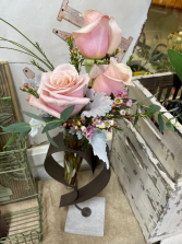 Heart Cone Vase