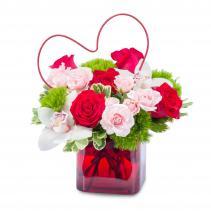 Heart Full of Love Arrangement