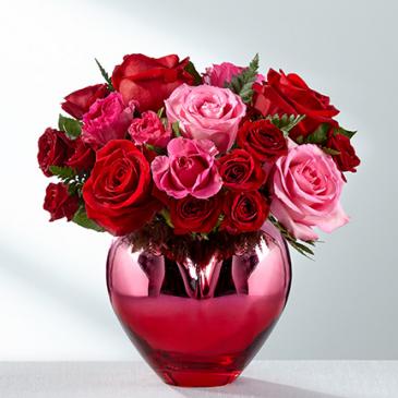 Heart full of roses