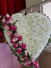Heart Funeral 24 x inch