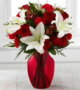 Heart Holiday Bouquet