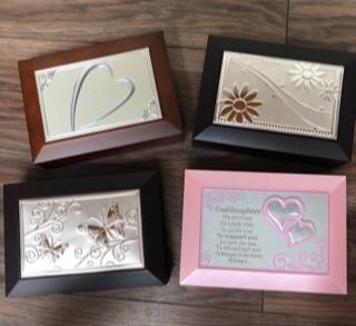 Personalized jewelry boxes  Price includes engraving