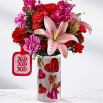 Heart Love Bouquet Love Arrangement