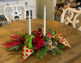 Heart of Christmas Holiday Centerpiece