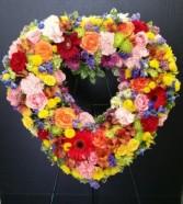 Heart of full memories Sympathy tribute
