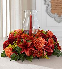 Heart of Harvest Centerpiece Thanksgiving centerpiece