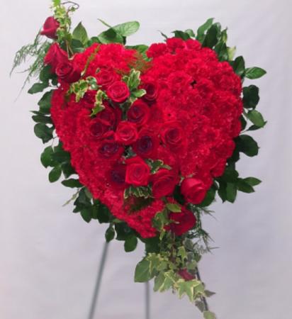 Heart of Love Full Heart Easel