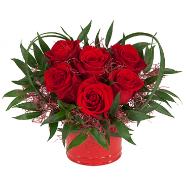 Heart of Love Roses Arrangement