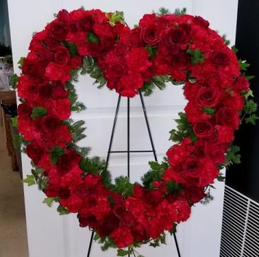 Heart of my Heart wreath