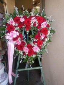 Heart of my love Heart Wreath