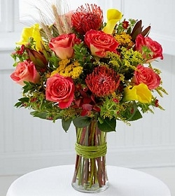 Heart of the Harvest Bouquet by Better Homes and Gardens Flower Arrangement in Burbank, CA | MY BELLA FLOWER