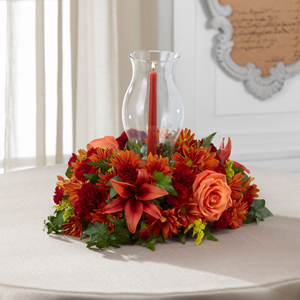 The FTD Heart of the Harvest Centerpiece Centerpiece
