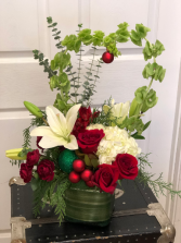 Heart of the Holidays Floral Arrangement