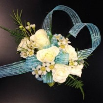 Heart of the Ocean Wrist Corsage