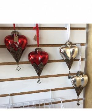 Heart ornament  in Sebastian, FL | Paradise Florist