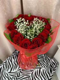Heart Red Roses  Heart Red Roses Valentines Day