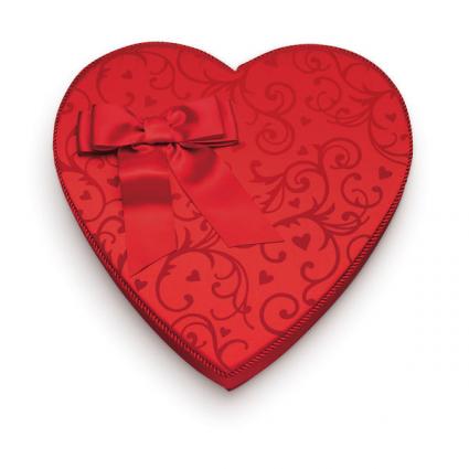 heart shape chocolate candy