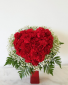 HEART SHAPED CARNATION ARRANGEMENT