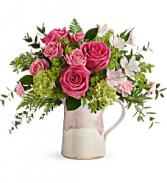 Heart Stone Bouquet - 202 Vase arrangement