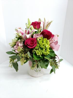 Heart Stone Bouquet  in Liberal, KS | THE FLOWER BASKET
