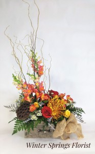 Heart Warming Harvest  Rustic Drawer Design  in Winter Springs, FL   WINTER SPRINGS FLORIST AND GIFTS