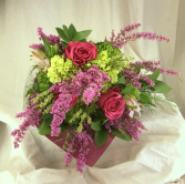 Heartbeat European Hand Tied Cut Bouquet (no vase)
