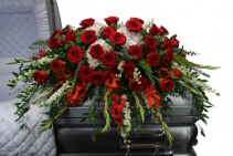 HEARTFELT CASKET TRIBUTE
